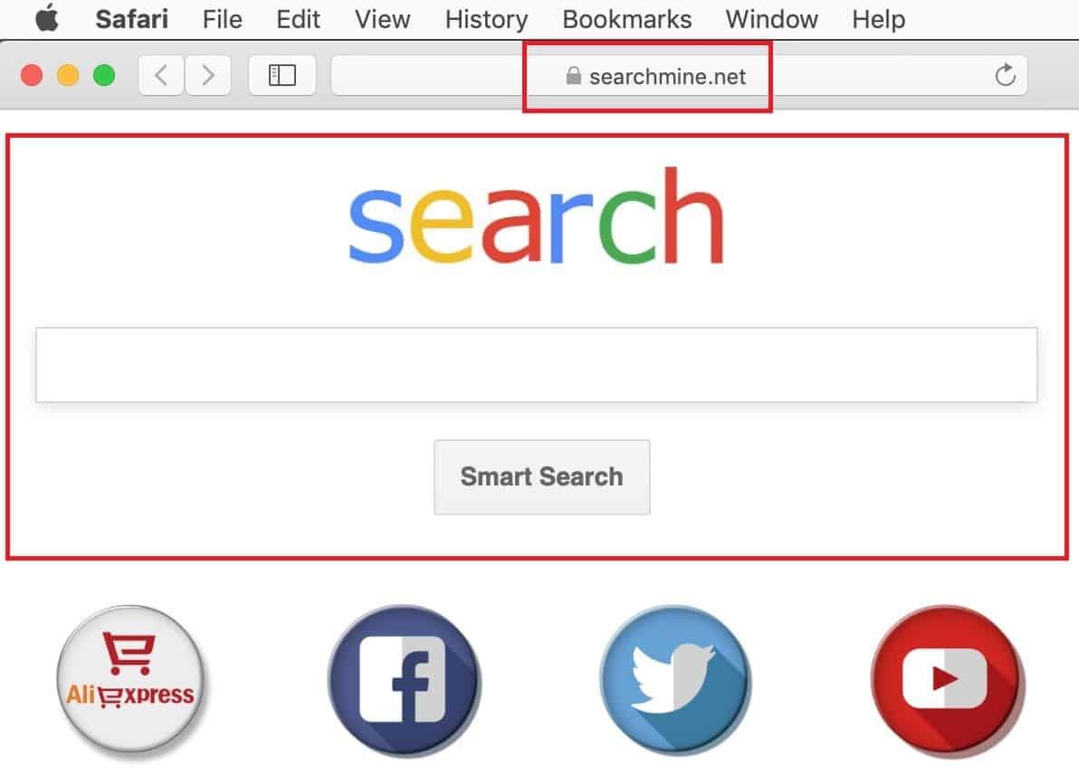 Remove Search Mine