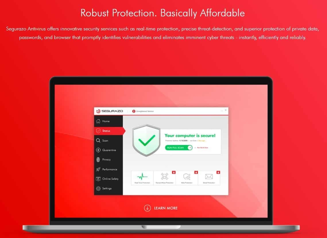 How to Uninstall Segurazo Antivirus