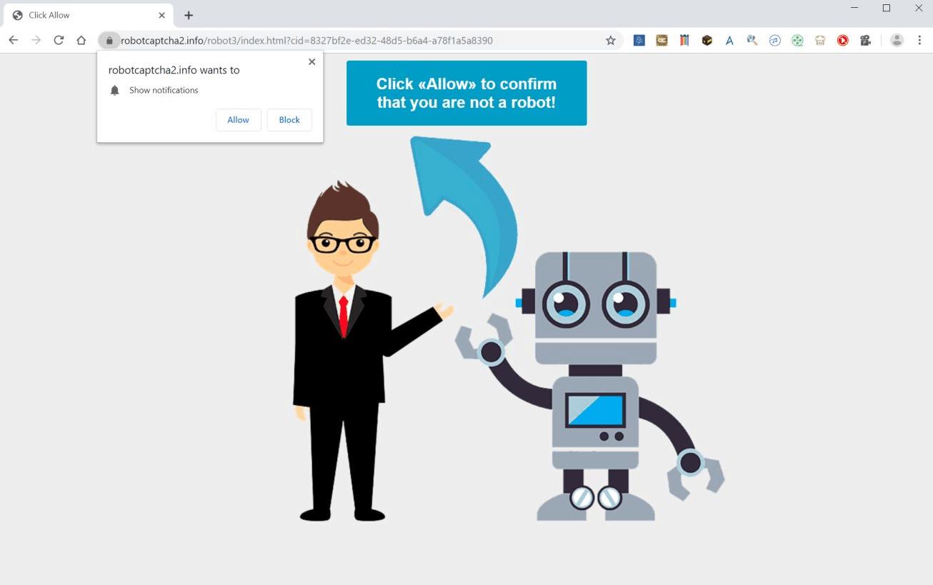"Eliminar Robotcaptcha2.info ""Virus"" (Chrome/FF/IE) Sept. 2019"