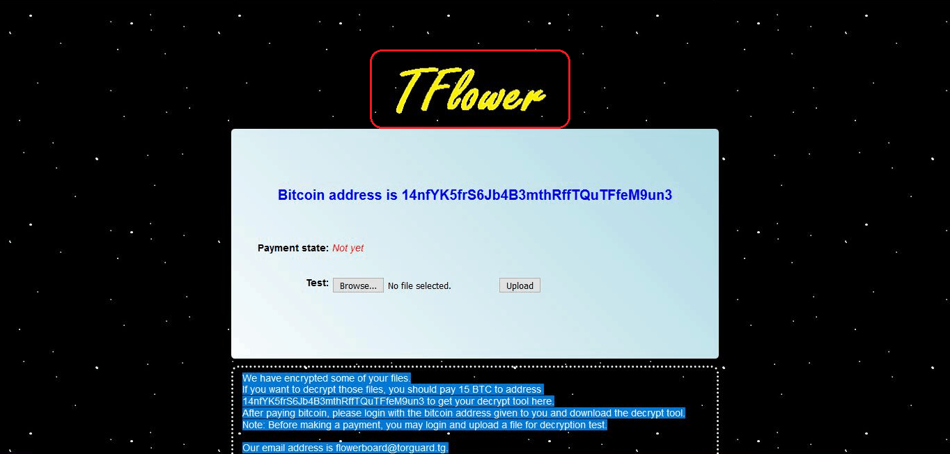 Remove TFlower Ransomware Virus (+ TFlower File Recovery) Sept. 2019 Update