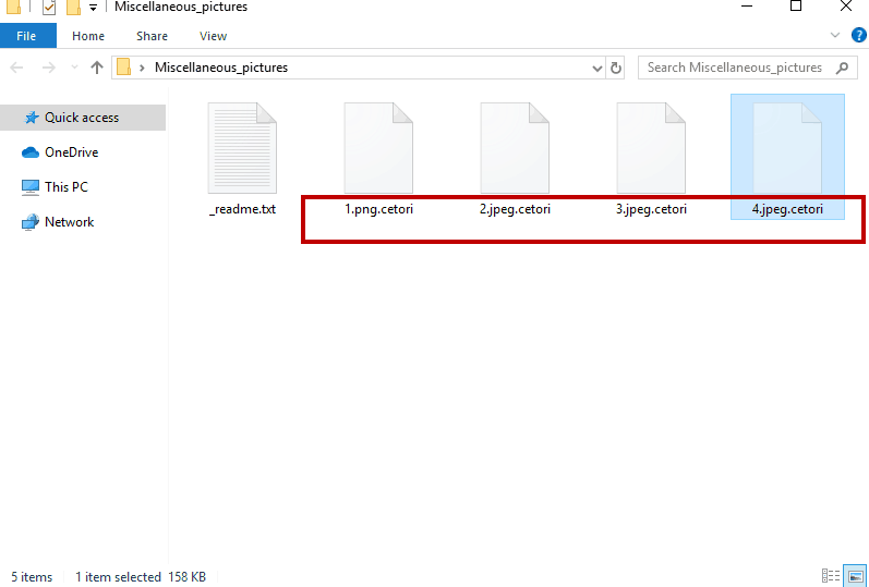 Cetori File