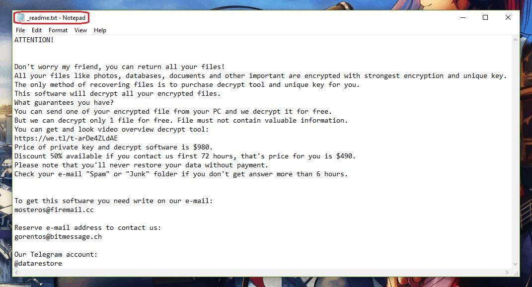 Cosakos Virus File