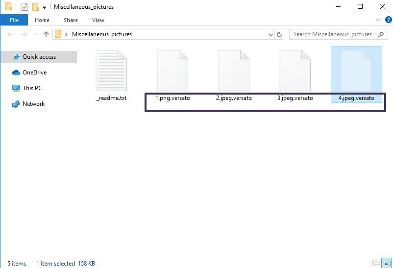 Versato File
