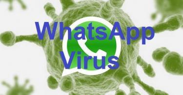 WhatsApp Virus