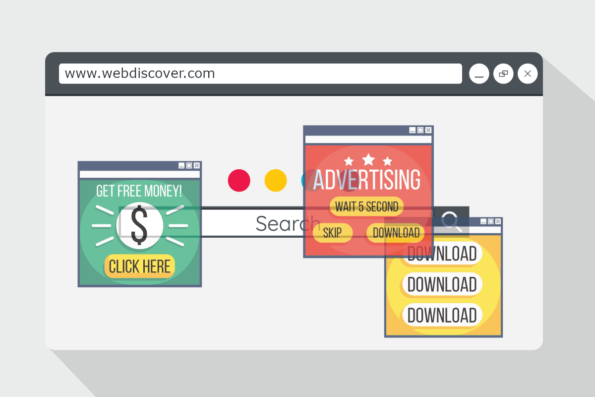 how to remove webdiscover