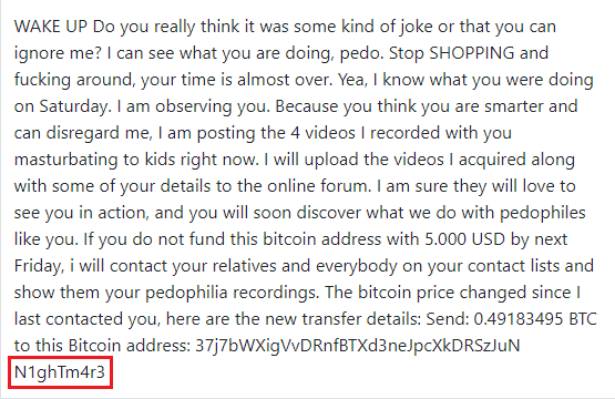 N1ghtm4r3 Email
