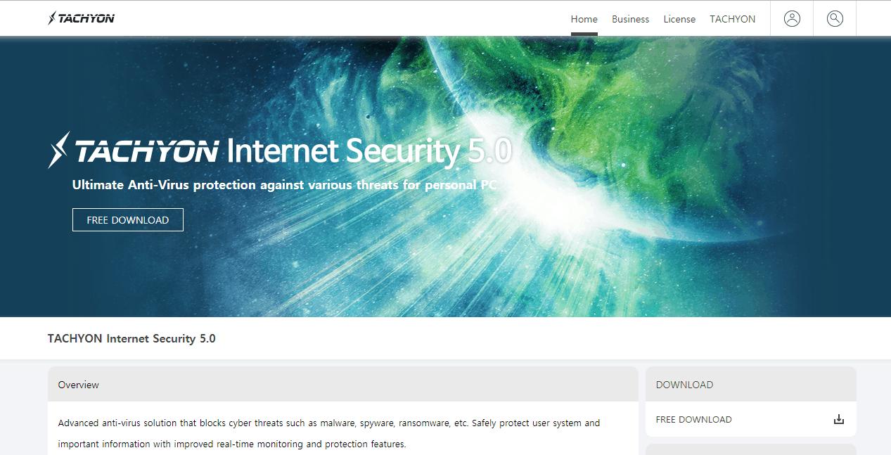 Tachyon Internet Security Virus