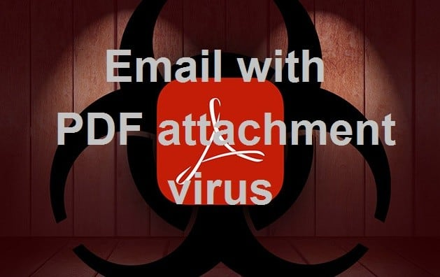 Email with PDF attachment virus