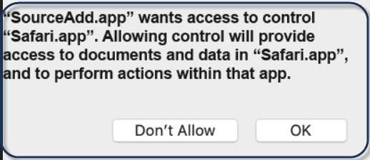 Source Add Mac