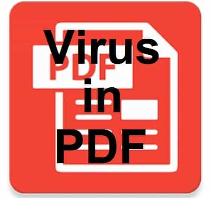 Virus in PDF