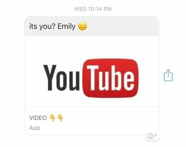facebook messenger youtube virus