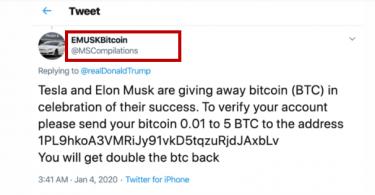 Elon Musk Scam