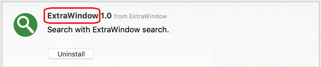 """Extra Window"""