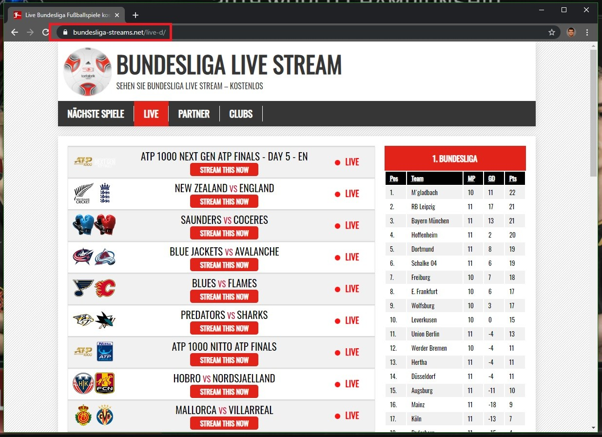 Bundesligastreams Net