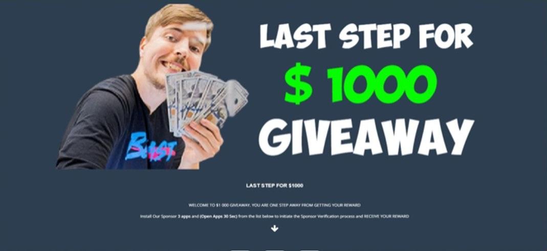 mr beast 1000 giveaway