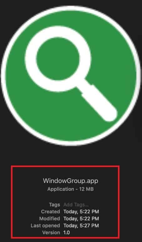 windowgroup