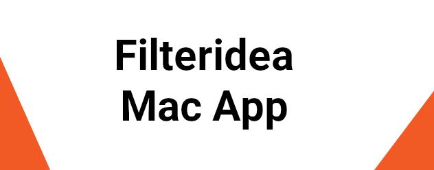 FilterIdea Mac