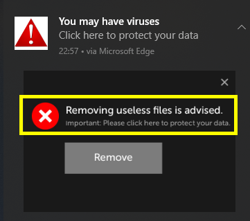Removing Useless Files Is Advised