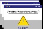 Weather Network Mac Virus