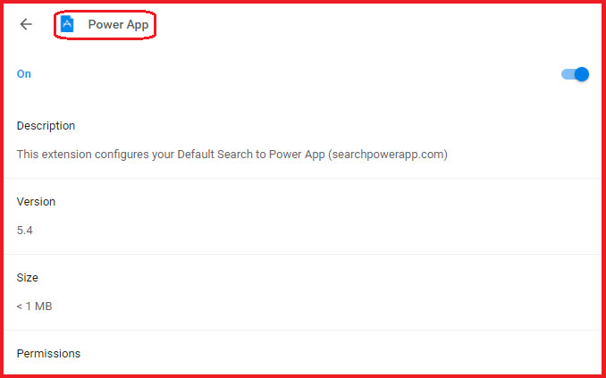 Power App Chrome