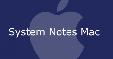 System Notes