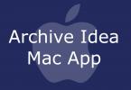 Archive Idea