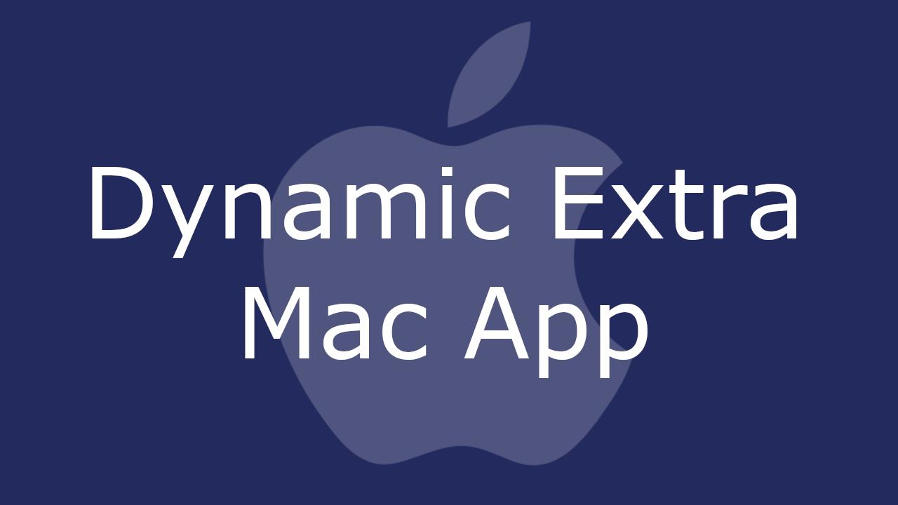 Dynamic Extra