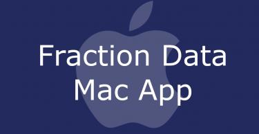 Fraction Data Mac