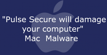 Pulse Secure will damage your computer