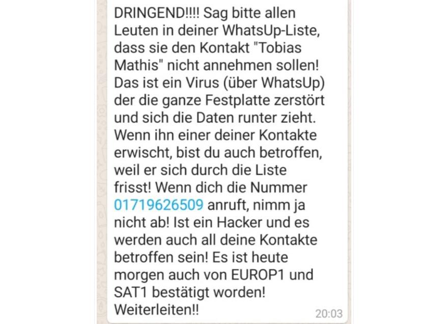 Sat1 Whatsapp