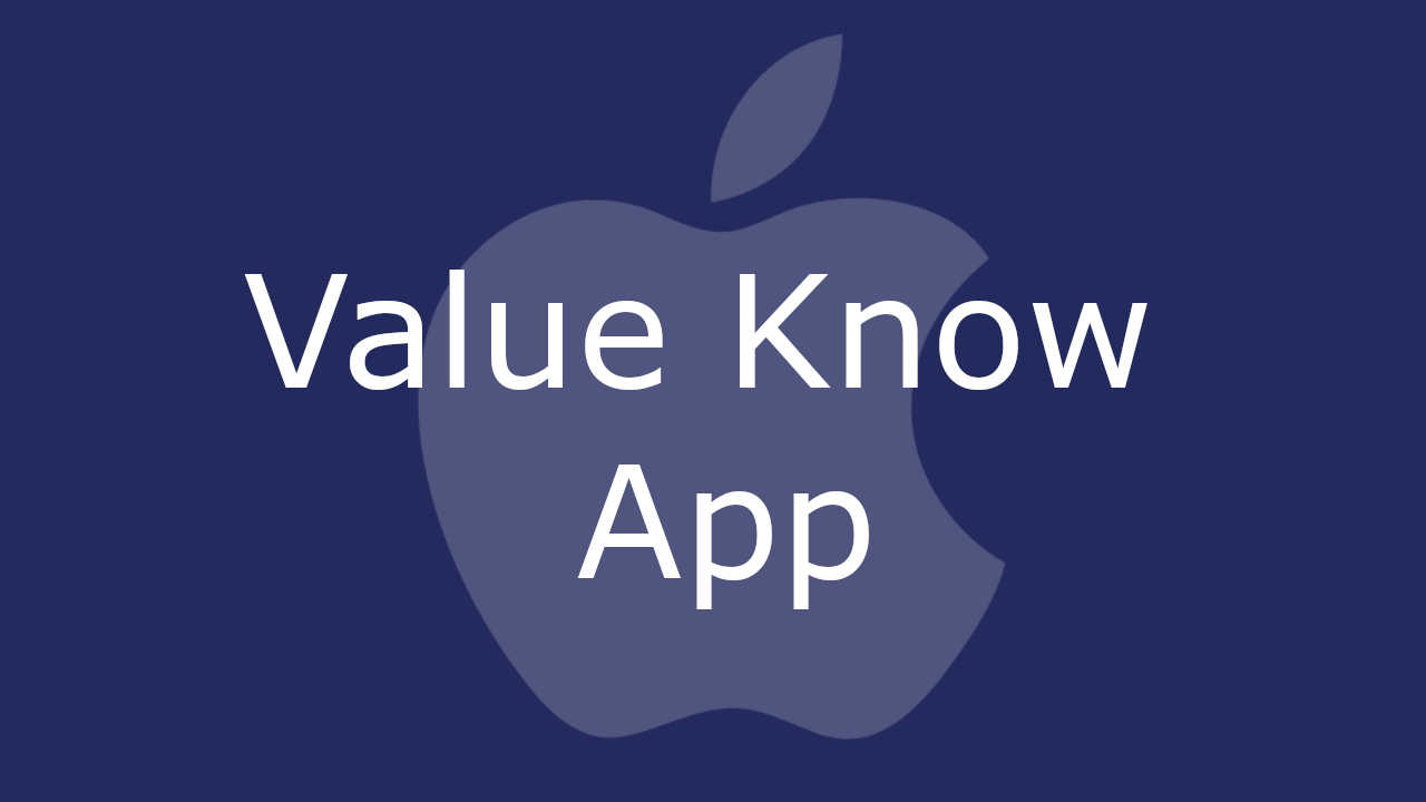 Value Know Mac