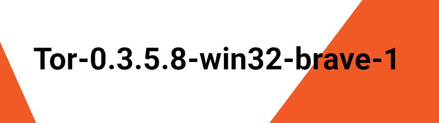 Tor-0.3.5.8-win32-brave-1