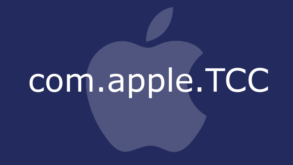 com.apple.tcc