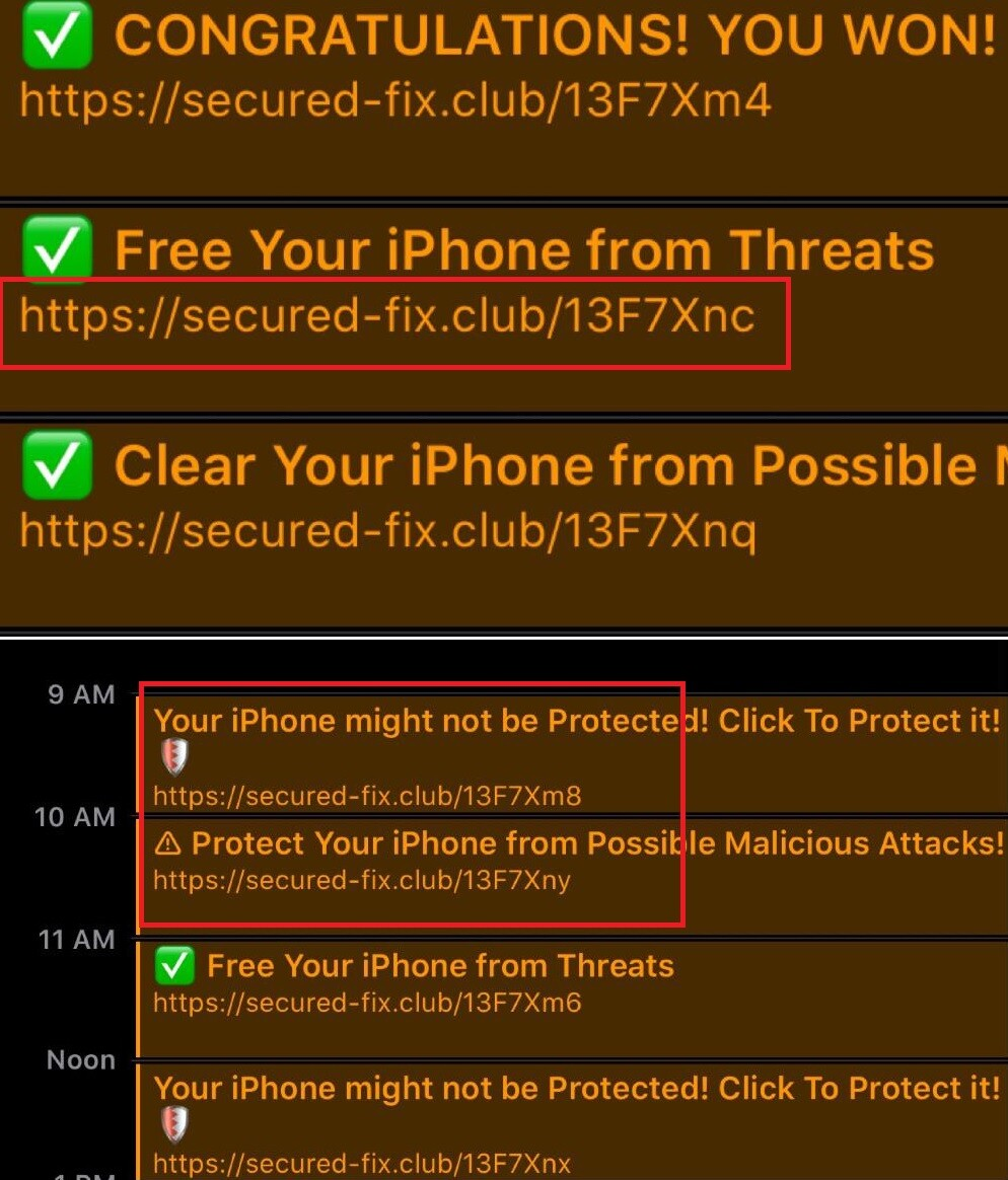 Secured Fix Club iPhone