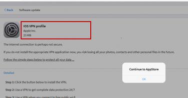 IOS VPN Profile