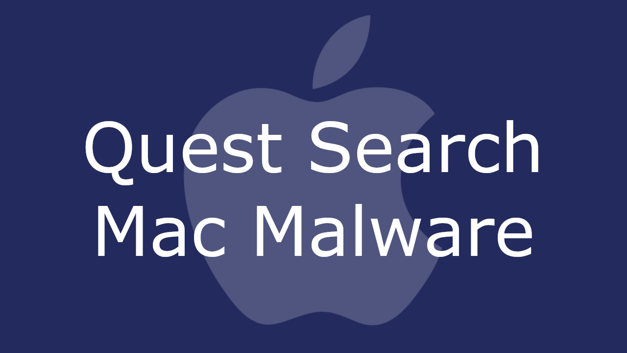 Quest Search Mac