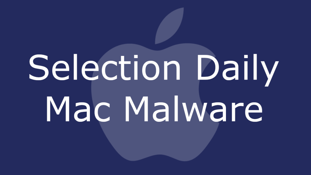 Selection Daily Mac
