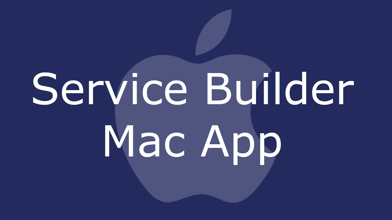 Service Builder