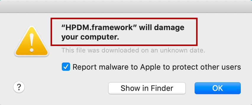HPDM.framework