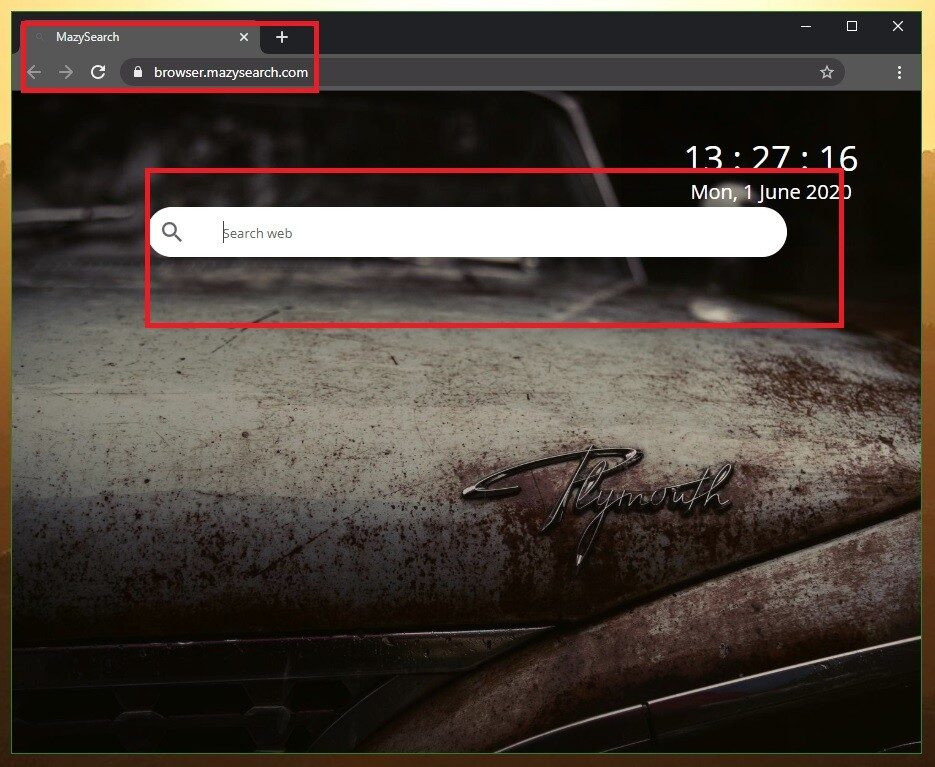 How to Remove Mazy Search