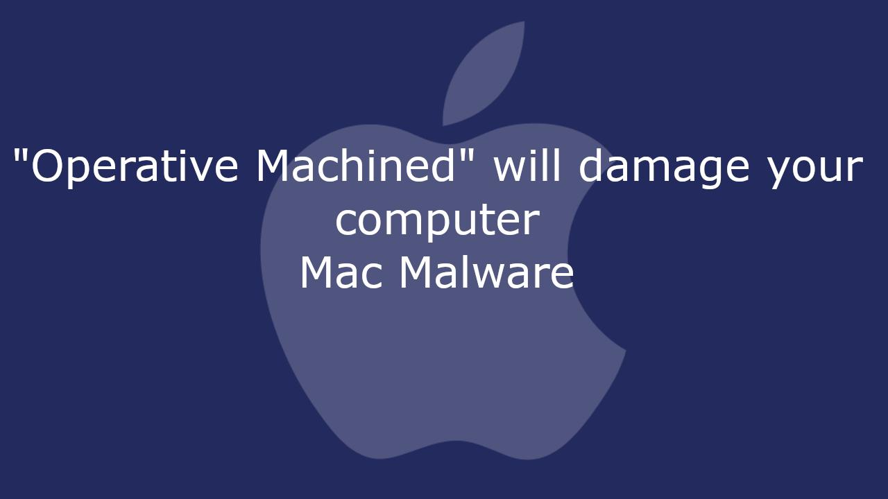 Operative Machined