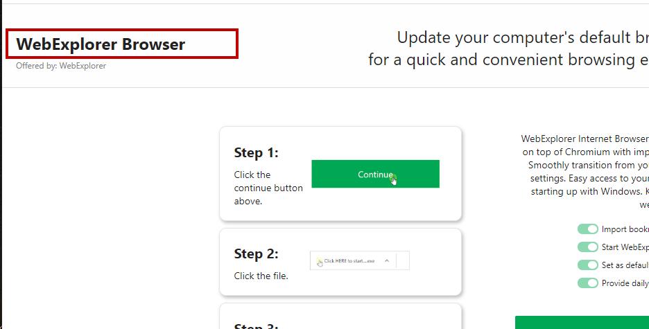 How To Remove WebExplorer