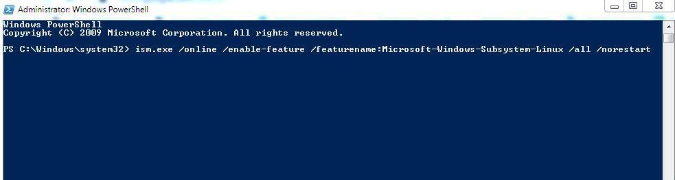 Running Linux Ubuntu on Windows
