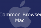 Common Browser Mac