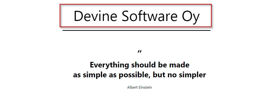 Devine Software Oy