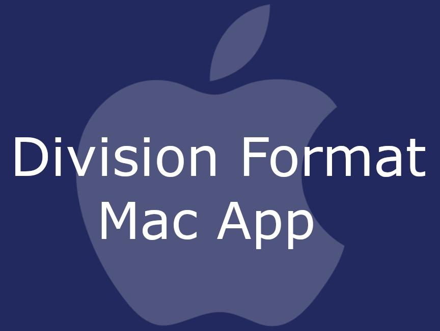 Division Format