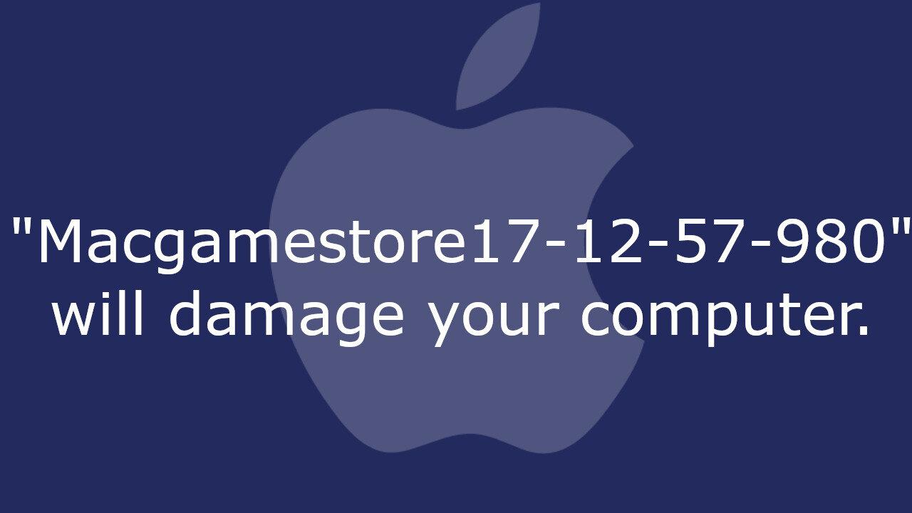 MacGameStore17-12-57-980 Malware