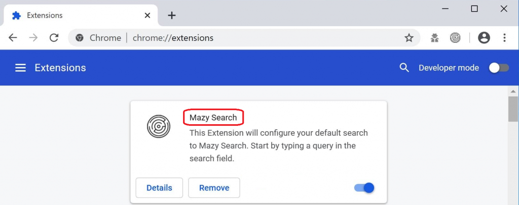 How to Remove MazySearch