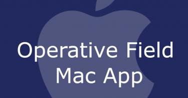 Operative Field Mac