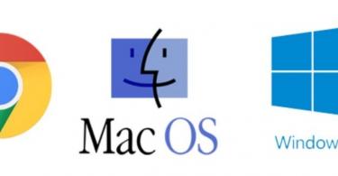 Windows, Chrome OS or MacOS